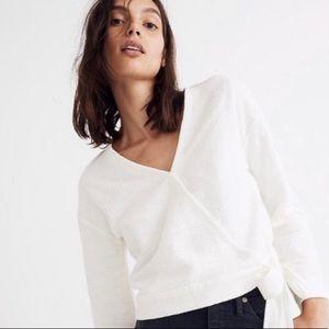 Madewell Texture & Thread Wrap Shirt